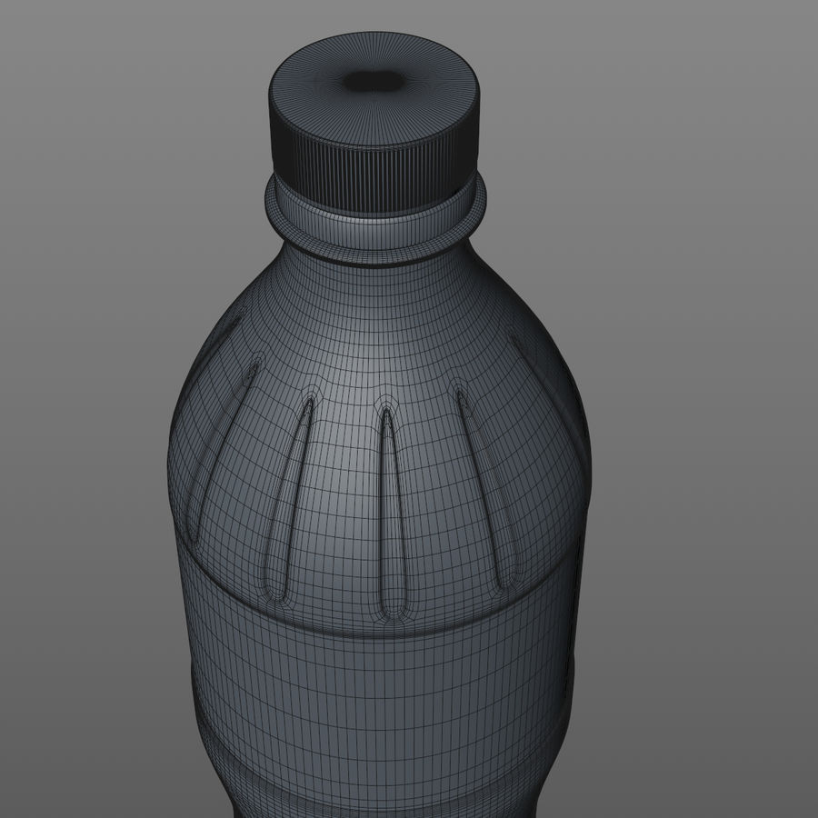 Soda Bottles royalty-free 3d model - Preview no. 19