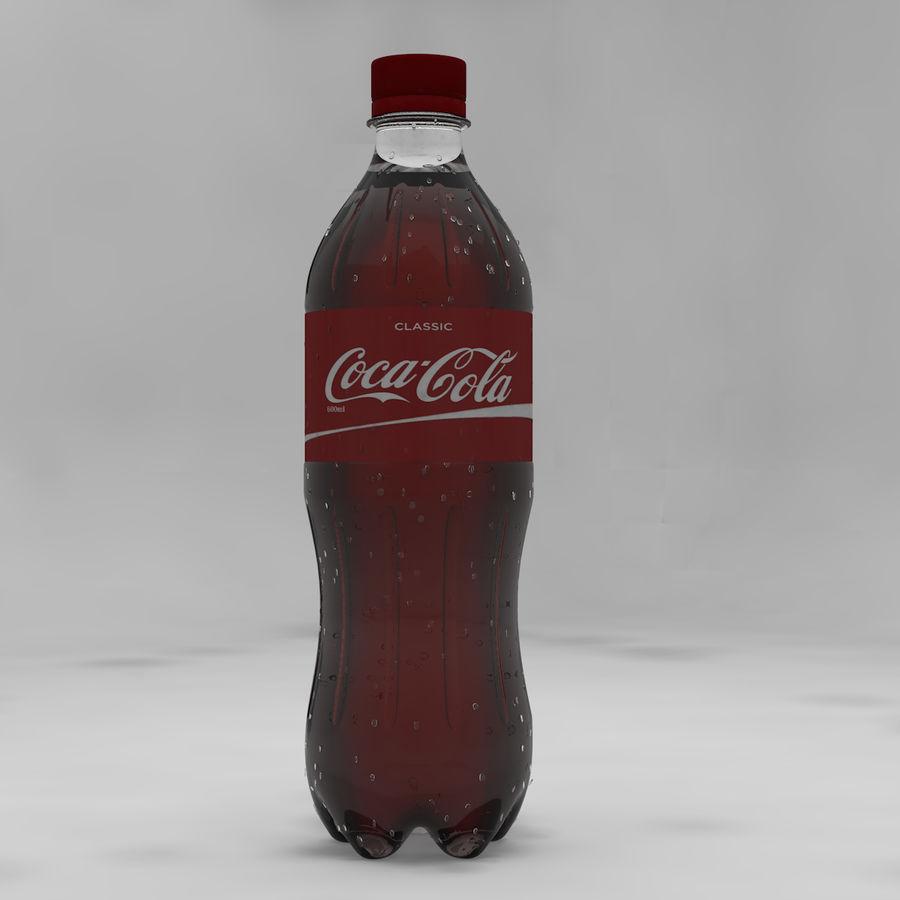 Soda Bottles royalty-free 3d model - Preview no. 5