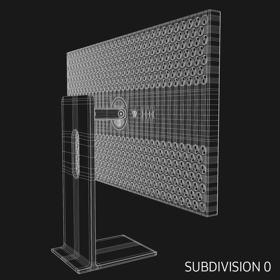 Pro Display XDR royalty-free 3d model - Preview no. 15