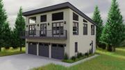 Dom umeblowany 3d model
