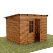 园林工具房 3d model