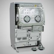 초 중력 과학 글러브 박스-ISS MSG 3d model