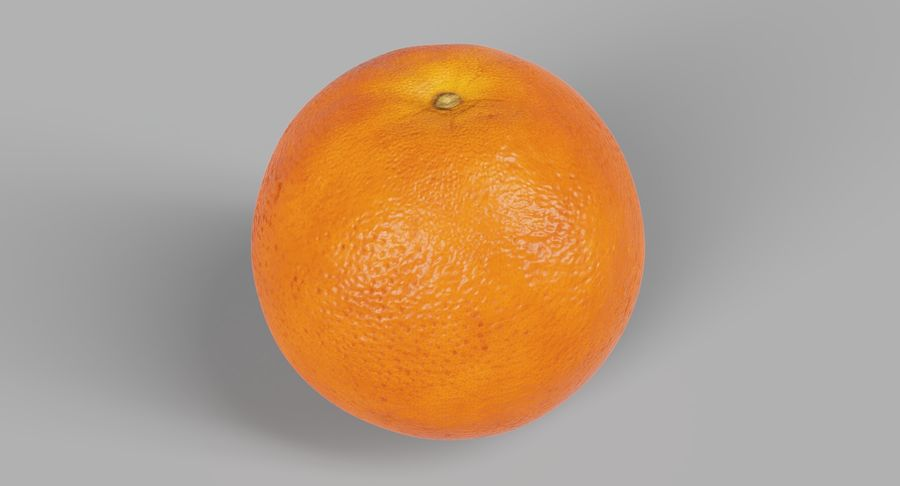 オレンジ royalty-free 3d model - Preview no. 3