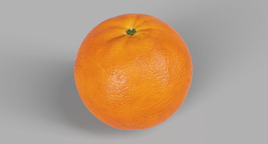 オレンジ royalty-free 3d model - Preview no. 2