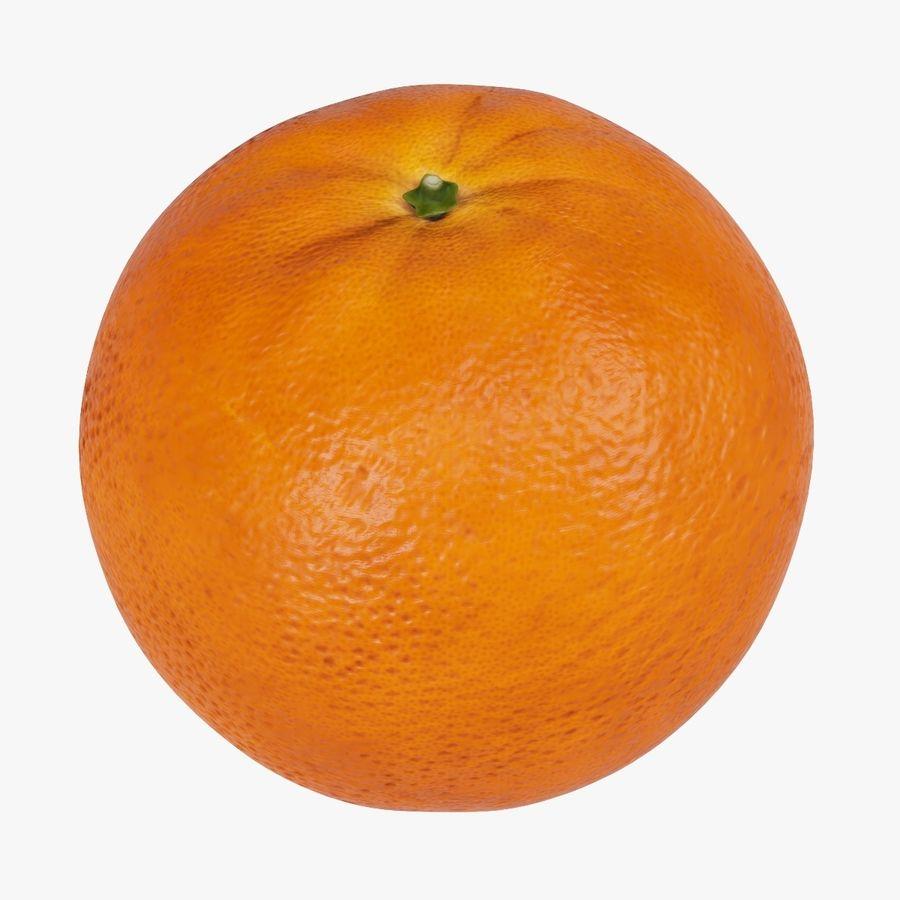 オレンジ royalty-free 3d model - Preview no. 1