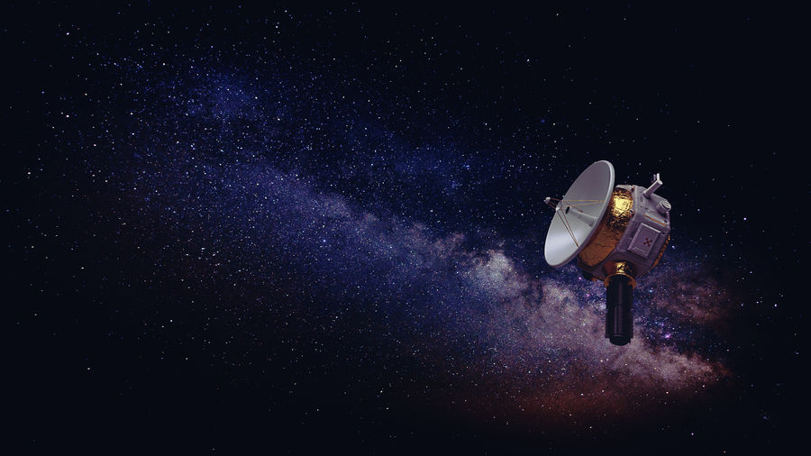 Deep Space Probe royalty-free 3d model - Preview no. 2