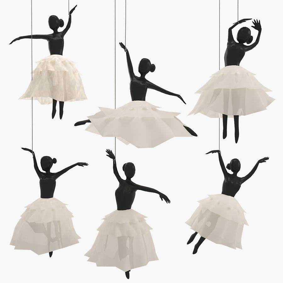 Decoración colgante de ballet royalty-free modelo 3d - Preview no. 1