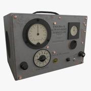 Metallic Radio 3d model