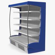 Wall Site Multideck koelkast 3d model