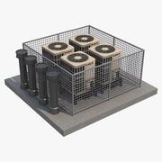 Ac Jednostka zewnętrzna_3 3d model