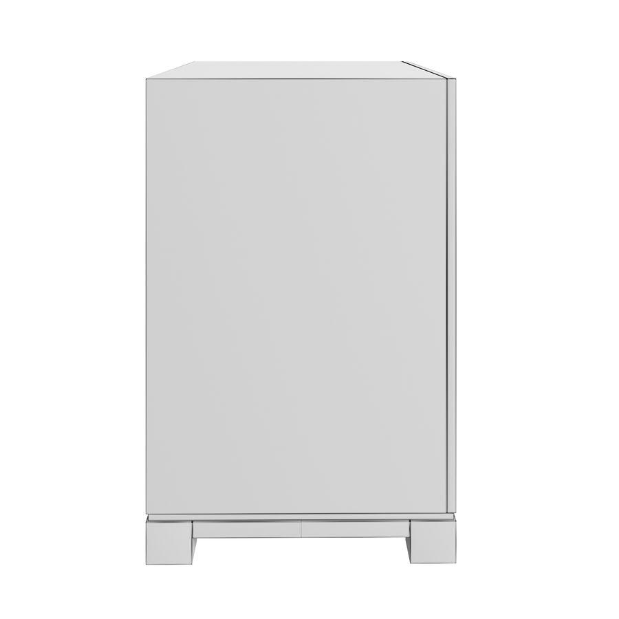침대 탁자 royalty-free 3d model - Preview no. 6