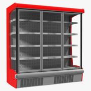 Multideck Display Fridge Modello 3D 3d model