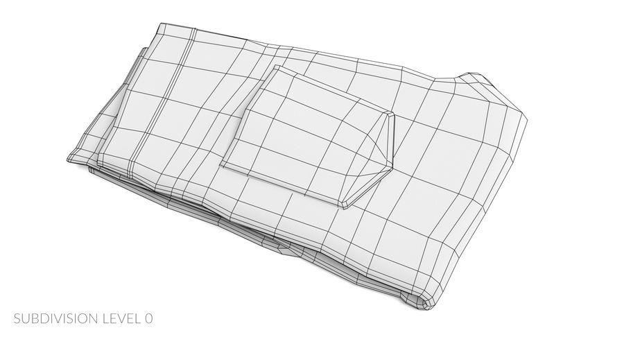 접힌 청바지 2 royalty-free 3d model - Preview no. 12