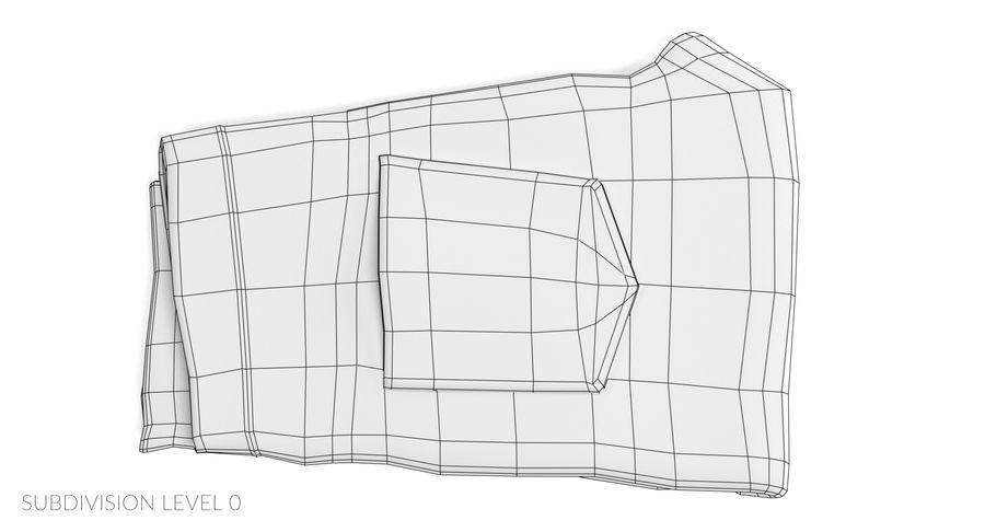 접힌 청바지 2 royalty-free 3d model - Preview no. 10