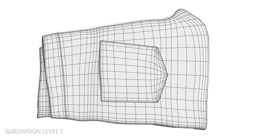 접힌 청바지 2 royalty-free 3d model - Preview no. 11