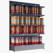 Stojak reklamowy Pringles 3d model
