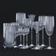 Glass Set 1 3d model
