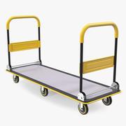 Platform El Arabası Arabası 3d model