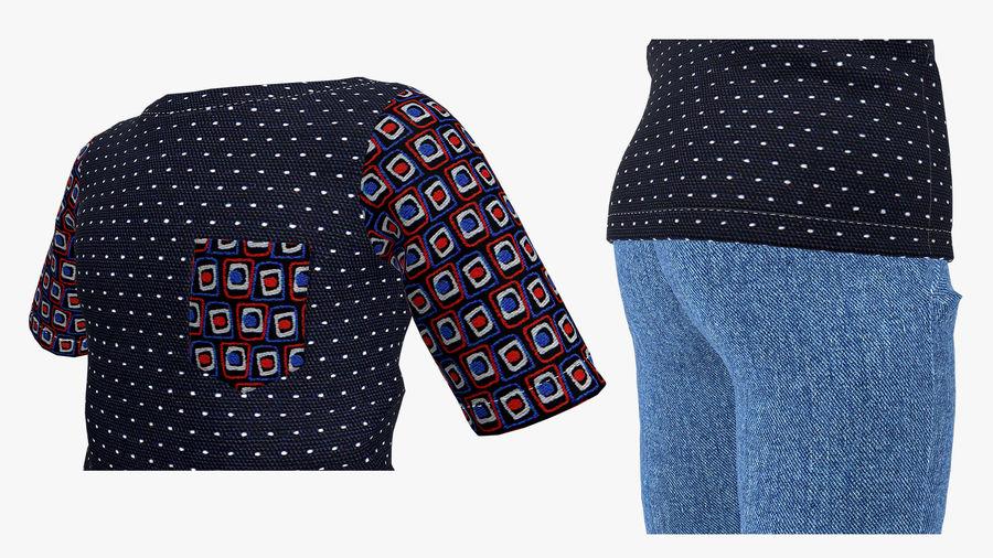 barnkläder för pojkar royalty-free 3d model - Preview no. 6