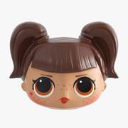 Doll Head 3d model