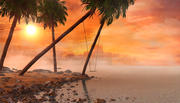 Sunset Beach Swing 3d model