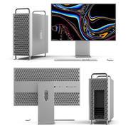 Mac Pro 2019 i Pro Display XDR 3d model