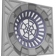 Throne Room Window 3d model