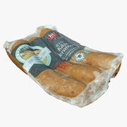 Cheese Sausage 01 3d model