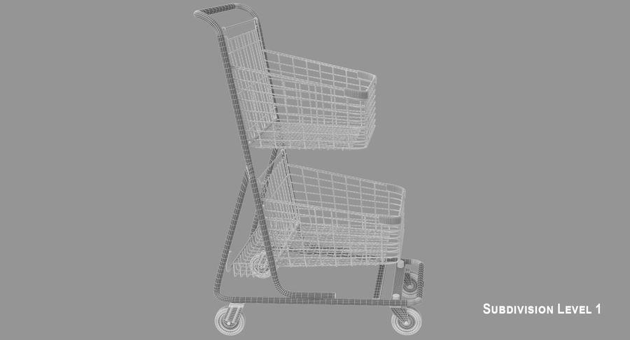 Kundvagn royalty-free 3d model - Preview no. 12