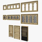 Puertas y ventanas modelo 3d