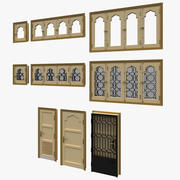 Portas e janelas 3d model