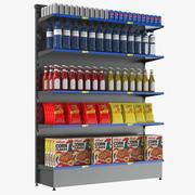 Prateleiras de supermercado 3d model
