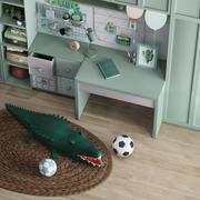 おもちゃと家具の子供部屋 3d model
