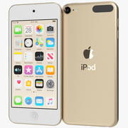Apple iPod Touch (2019) Gold 3d model