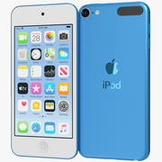 Apple iPod Touch (2019) Blue 3d model