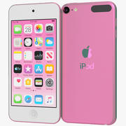Apple iPod Touch (2019) Pink 3d model