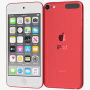 Apple iPod Touch (2019) Red 3d model
