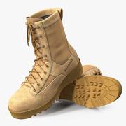 Belleville 795沙漠防水绝缘战斗靴 3d model
