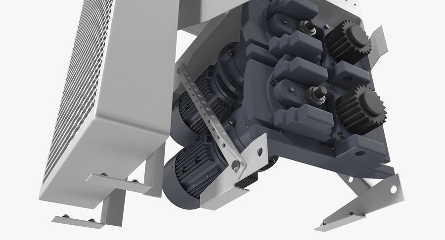Silnik silnika windy royalty-free 3d model - Preview no. 10