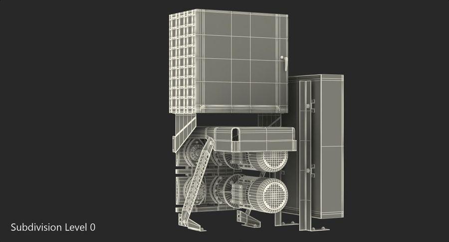 Silnik silnika windy royalty-free 3d model - Preview no. 11