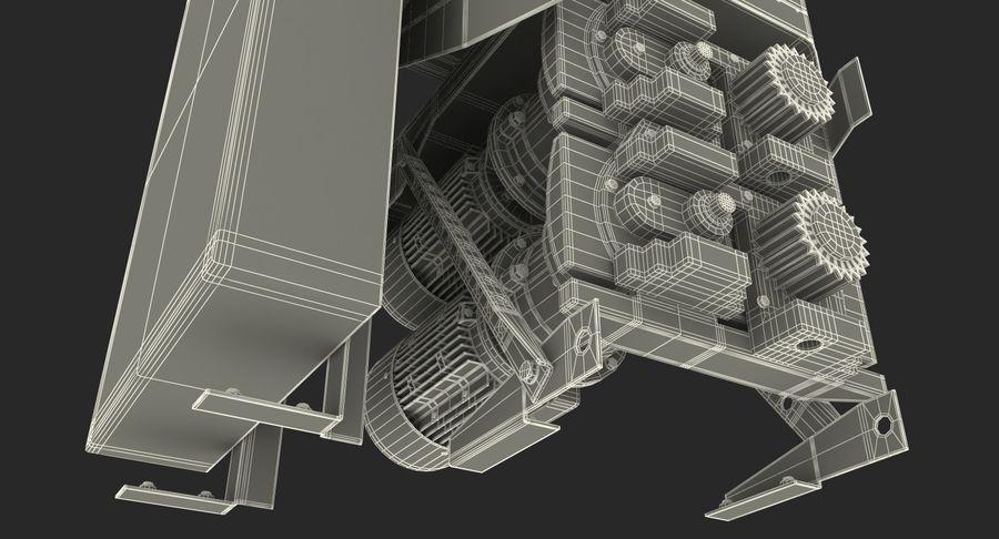 Silnik silnika windy royalty-free 3d model - Preview no. 20