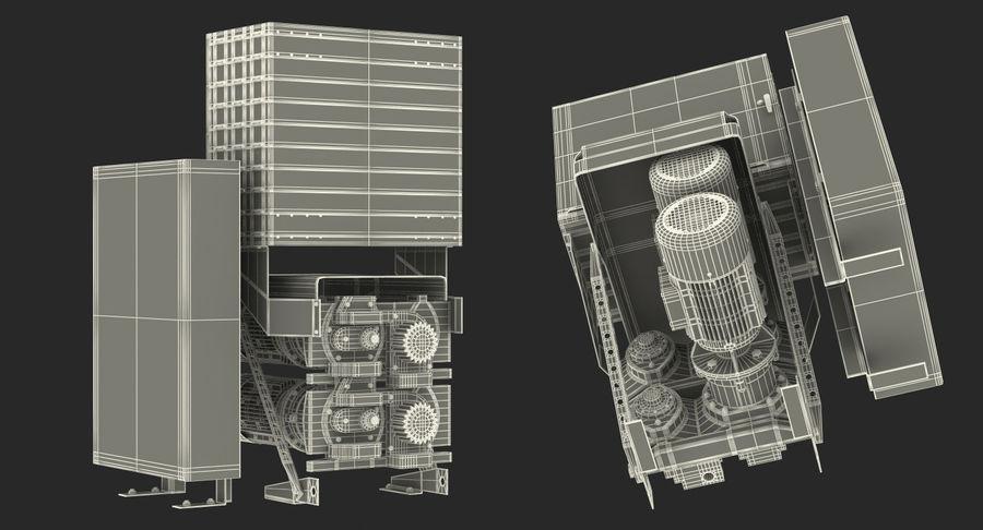 Silnik silnika windy royalty-free 3d model - Preview no. 18