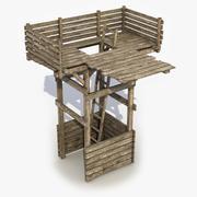 Wieża strażnicza 3d model