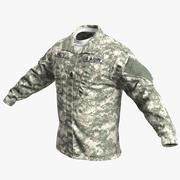 US Army ACU Jacket 3d model