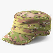 US Army Camouflage Hat 3d model