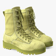US Army Military ACU Boots 3d model