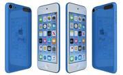 Apple iPod Touch Blue 3d model