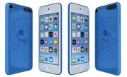 Apple iPod Touch Blue 3d model