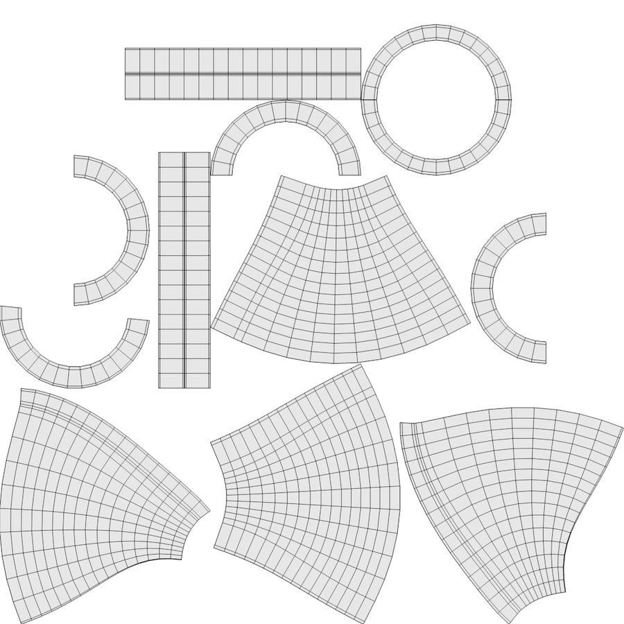 Steampunk Masa Lambası royalty-free 3d model - Preview no. 20
