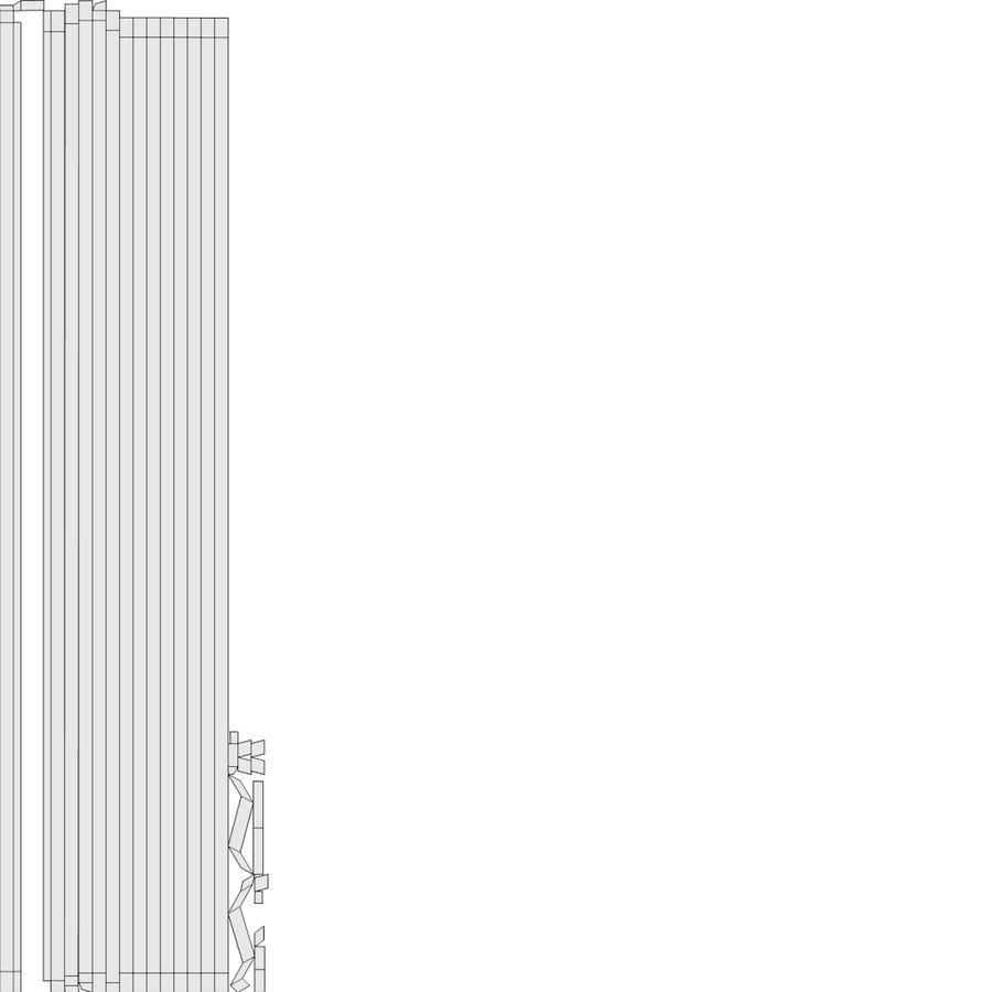 スチームパンクなテーブルランプ royalty-free 3d model - Preview no. 15